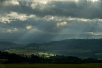 Storm over Brecon